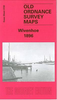 Wivenhoe 1896: Essex Sheet 37.02 - Old O.S. Maps of Essex (Sheet map, folded)