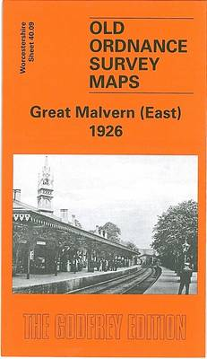 Great Malvern (East) 1926: Worcestershire Sheet 39.12 - Old Ordnance Survey Maps of Worcestershire (Sheet map, folded)