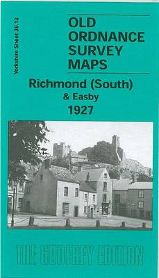 Richmond South and Easby 1927: Yorkshire Sheet 39.13 - Old O.S. Maps of Yorkshire (Sheet map, folded)