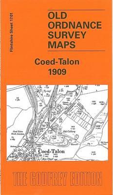 Coed - Talon 1909: Flintshire Sheet 17.01 - Old O.S. Maps of Flintshire (Sheet map, folded)