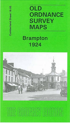 Brampton 1924: Cumberland Sheet 18.05 - Old O.S. Maps of Cumberland (Sheet map, folded)