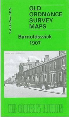 Barnoldswick 1907: Yorkshire Sheet 183.04 - Old O.S. Maps of Yorkshire (Sheet map, folded)
