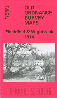 Finchfield and Wightwick 1914: Staffordshire Sheet 62.09 - Old O.S. Maps of Staffordshire (Sheet map, folded)