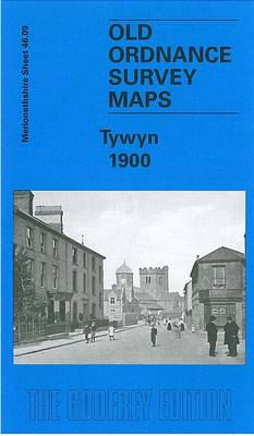 Tywyn 1900: Merionethshire Sheet 46.09 - Old O.S. Maps of Merionethshire (Sheet map, folded)