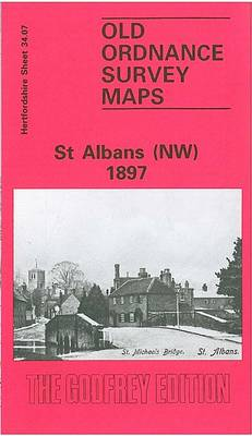 St Albans (NW) 1897: Hertfordshire Sheet 34.07 (Sheet map, folded)