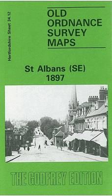St Albans (SE) 1897: Hertfordshire Sheet 34.12 (Sheet map, folded)