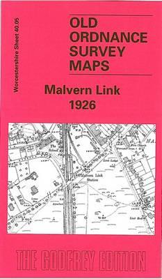 Malvern Link 1926: Worcestershire Sheet 40.05 - Old Ordnance Survey Maps of Worcestershire (Sheet map, folded)