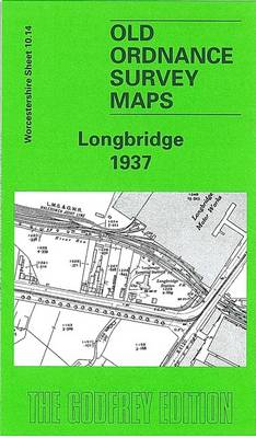 Longbridge 1937: Worcestershire Sheet 10.14 - Old Ordnance Survey Maps of Worcestershire (Sheet map, folded)