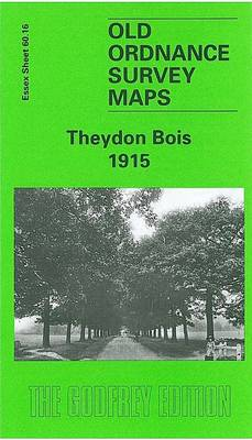 Theydon Bois 1915: Essex Sheet 60.16 - Old O.S. Maps of Essex (Sheet map, folded)