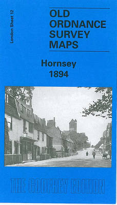 Hornsey 1894: London Sheet 012.2 - Old Ordnance Survey Maps of London (Sheet map, folded)