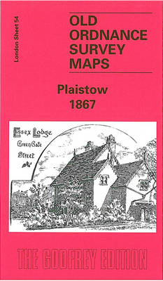 Plaistow 1867: London Sheet 054.1 - Old Ordnance Survey Maps of London (Sheet map, folded)