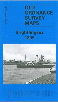 Brightlingsea 1895: Essex Sheet 37.16 - Old O.S. Maps of Essex (Sheet map, folded)