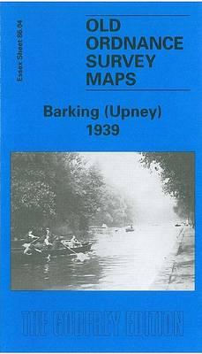 Barking (Upney) 1939: Essex Sheet 86.04 - Old O.S. Maps of Essex (Sheet map, folded)