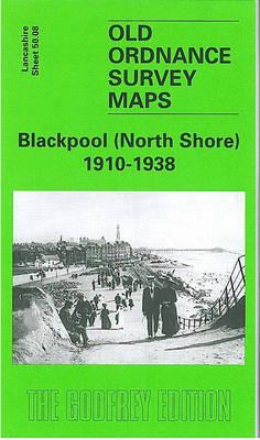 Blackpool (North Shore) 1910- 1938: Lancashire Sheet 50.08 - Old Ordnance Survey Maps of Lancashire (Sheet map, folded)