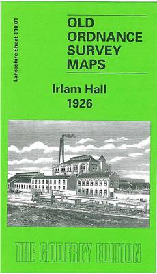Irlam Hall 1926: Lancashire Sheet 110.01 - Old O.S. Maps of Lancashire (Sheet map, folded)