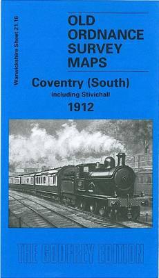 Coventry (South) 1912: Warwickshire Sheet 21.16 - Old Ordnance Survey Maps of Warwickshire (Sheet map, folded)