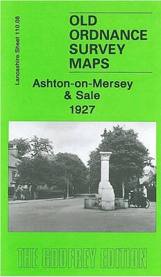 Ashton on Mersey 1927: Lancashire Sheet 110.08 - Old Ordnance Survey Maps of Lancashire (Sheet map, folded)