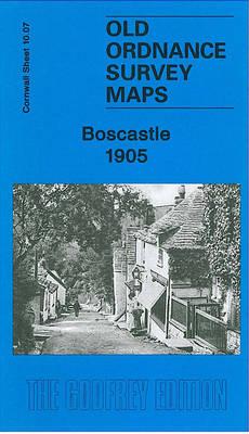 Boscastle 1905: Cornwall Sheet 10.07 (Sheet map, folded)