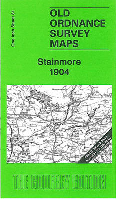 Stainmore 1904: One Inch Sheet 31 - Old Ordnance Survey Maps - Inch to the Mile (Sheet map, folded)