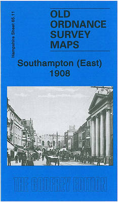 Southampton (East) 1908: Hampshire Sheet 65.11 (Sheet map, folded)