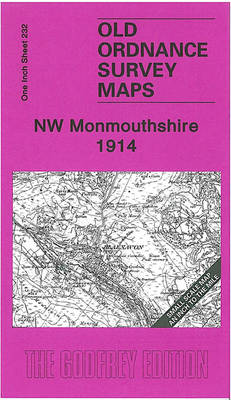 NW Monmouthshire 1914: One Inch Sheet 232 (Sheet map, folded)