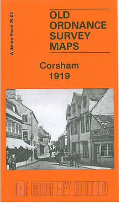 Corsham 1919: Wiltshire Sheet 25.08 (Sheet map, folded)