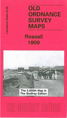 Rossall 1909: Lancashire Sheet 43.05 - Old Ordnance Survey Maps of Lancashire (Sheet map, folded)