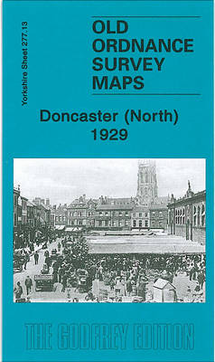 Doncaster (North) 1929: Yorkshire Sheet 277.13b - Old Ordnance Survey Maps of Yorkshire (Sheet map, folded)