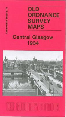 Central Glasgow 1934: Lanarkshire Sheet 6.10 (Sheet map, folded)