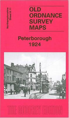 Peterborough 1924: Northamptonshire Sheet  8.11 - Old Ordnance Survey Maps of Northamptonshire (Sheet map, folded)