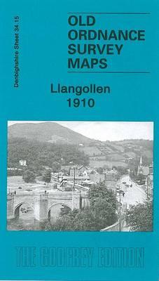 Llangollen 1910: Denbighshire Sheet 34.15 - Old O.S. Maps of Denbighshire (Sheet map, folded)