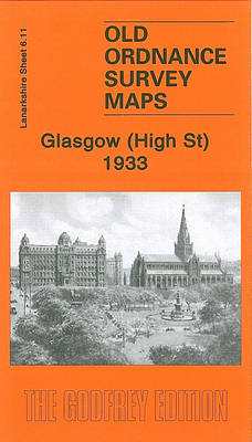 Glasgow (High St) 1933: Lanarkshire Sheet 6.11 (Sheet map, folded)