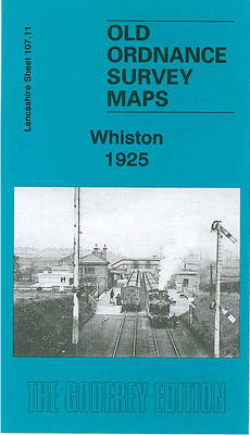 Whiston 1925: Lancashire Sheet 107.11 - Old Ordnance Survey Maps of Lancashire (Sheet map, folded)