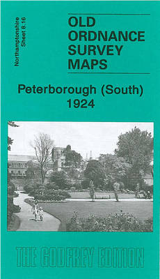 Peterborough (South) 1924: Northamptonshire Sheet 8.16 - Old Ordnance Survey Maps of Northamptonshire (Sheet map, folded)