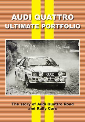 Audi Quattro Ultimate Portfolio (Paperback)