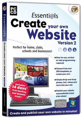 Essentials Create Your Own Website (DVD)