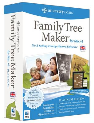 Family Tree Maker for MAC V2 (CD-ROM)