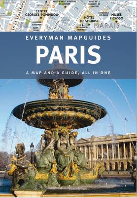 Paris Everyman Mapguide (Hardback)