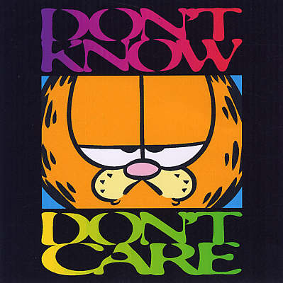 Don't Know, Don't Care - Garfield Gift Books (Hardback)