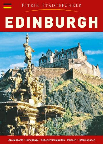 Edinburgh City Guide - German (Paperback)