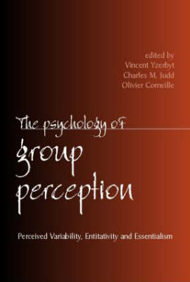 The Psychology of Group Perception (Hardback)