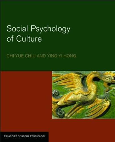 Social Psychology of Culture - Principles of Social Psychology (Paperback)