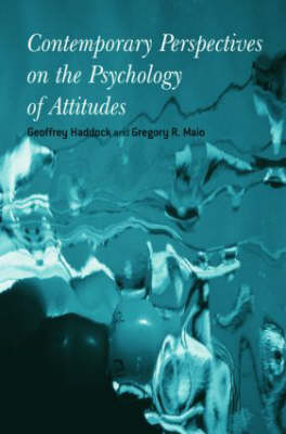 Contemporary Perspectives on the Psychology of Attitudes (Hardback)