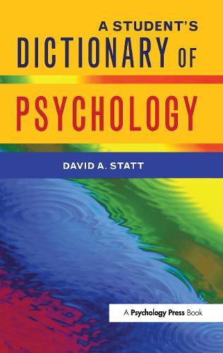 A Student's Dictionary of Psychology (Hardback)