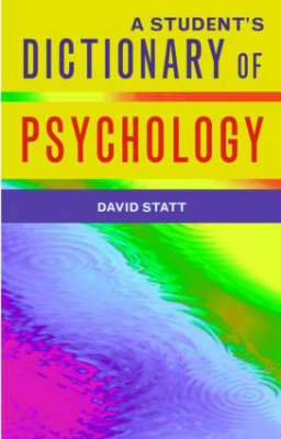 A Student's Dictionary of Psychology (Paperback)