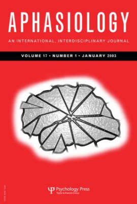 Quality of Life in Aphasia: A Special Issue of Aphasiology - Special Issues of Aphasiology (Paperback)