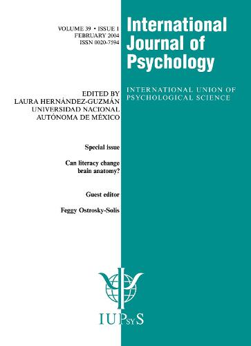 Can Literacy Change Brain Anatomy?: A Special Issue of the International Journal of Psychology - Special Issues of the International Journal of Psychology (Paperback)
