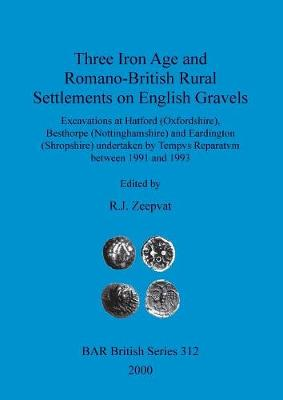 Three Iron Age and Romano-British Rural Settlements on English Gravels: Excavations at Hatford (Oxfordshire), Besthorpe (Nottinghamshire) and Eardington (Shropshire) undertaken by Tempvs Reparatvm between 1991 and 1993 - British Archaeological Reports British Series (Paperback)