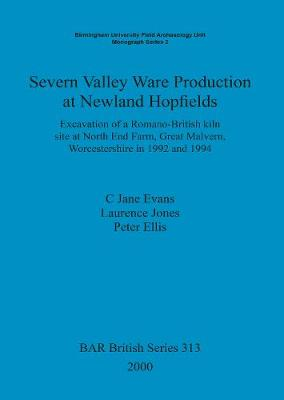 Severn Valley Ware Production at Newland Hopfields: Excavation of a Romano-British kiln site at North End Farm, Great Malvern, Worcestershire in 1992 and 1994 - British Archaeological Reports British Series (Paperback)