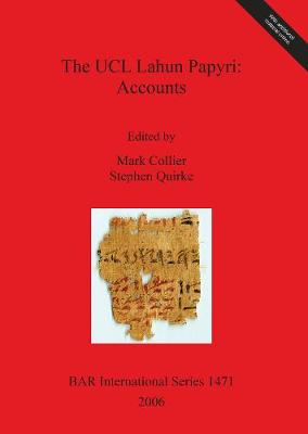 The UCL Lahun Papyri - British Archaeological Reports International Series